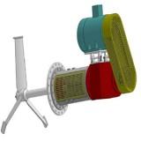 埃森ES-25搅拌器的桨叶设计