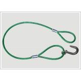 插编钢丝绳扣,压制钢丝绳套,无接头钢丝绳圈,浇铸钢丝绳索具