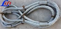 大吨位钢丝绳吊索具,大直径钢丝绳,超大直径、超大吨位的钢缆索具
