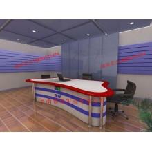 演播室播音桌 校园演播室桌